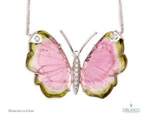 Colgante mariposa Floración en Cieza