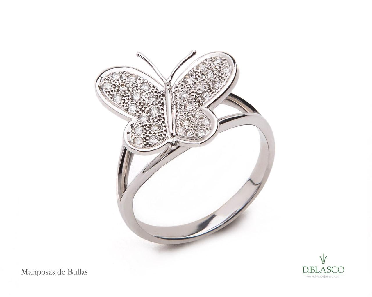 Mariposas de Bullas pendientes