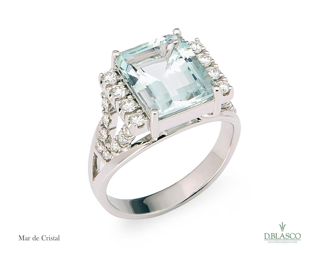 Mar de Cristal anillo