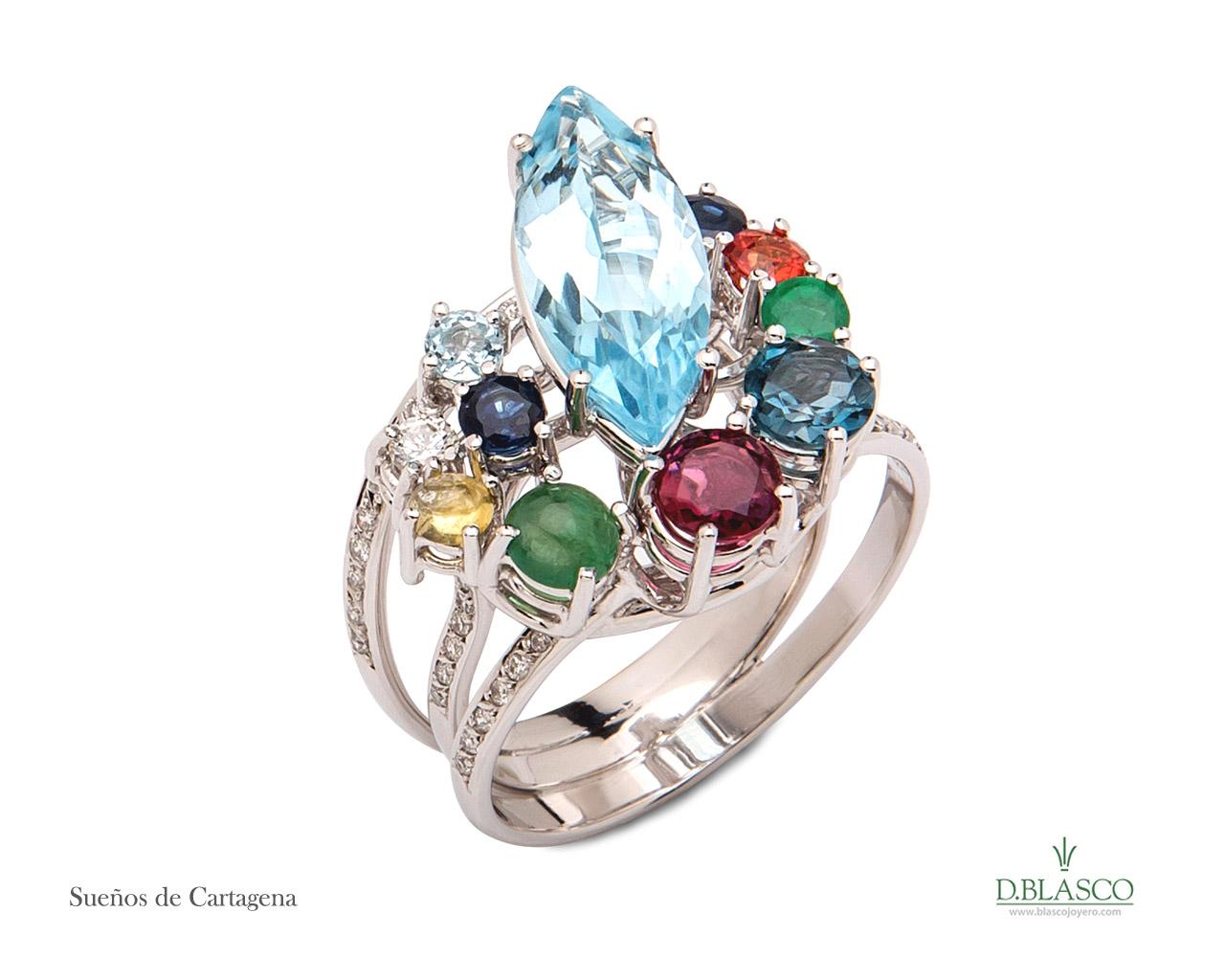 Sueños de Cartagena anillo