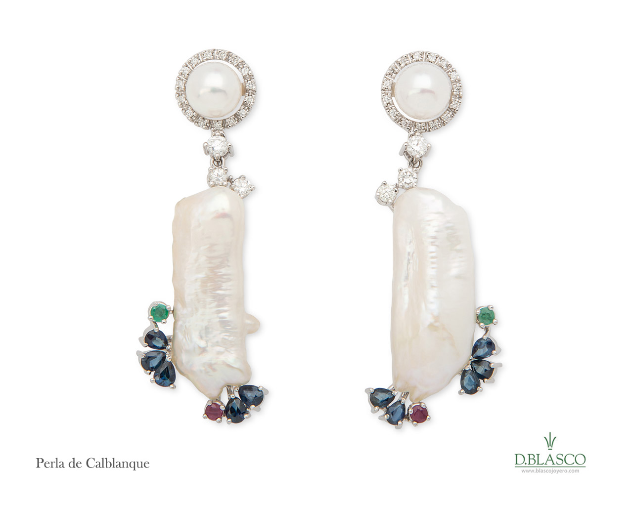 Perla de Calblanque pendientes