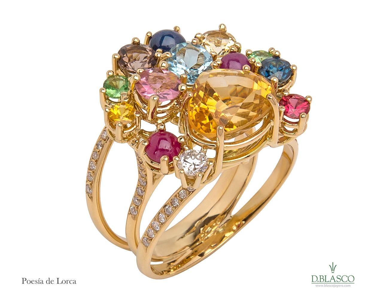 Poesía de Lorca anillo