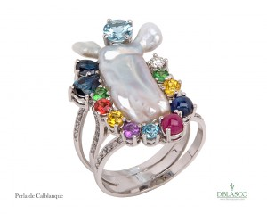 Perla de Calblanque anillo