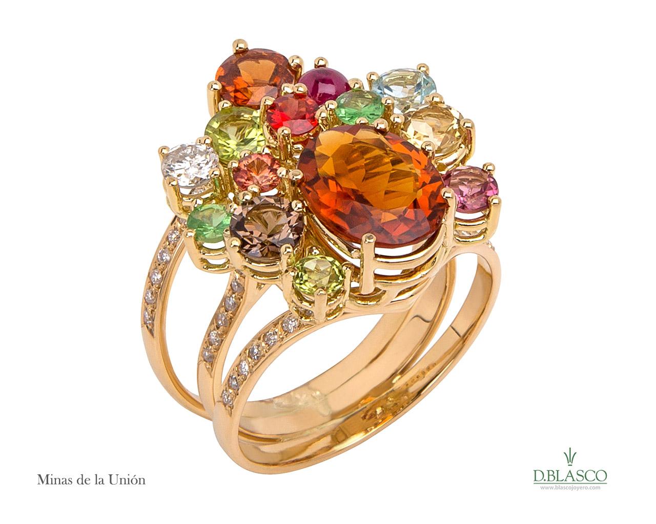 Minas de la union anillo